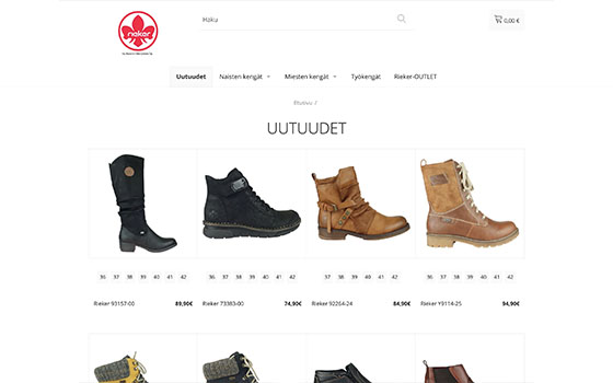 Rieker Shop verkkokauppa