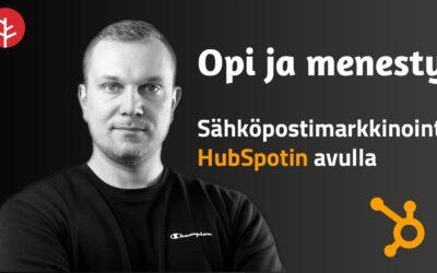 Sähköpostimarkkinoinnin rakentaminen HubSpotilla